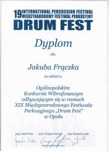 XIX Międzynarodowy Festiwal Perkusyjny Drum Fest